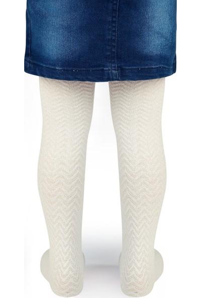 Bella Calze Külotlu Çorap 2-14 Yaş Ekru