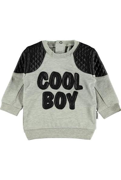 Civil Baby Erkek Bebek Sweatshirt 6-18 Ay Grimelanj