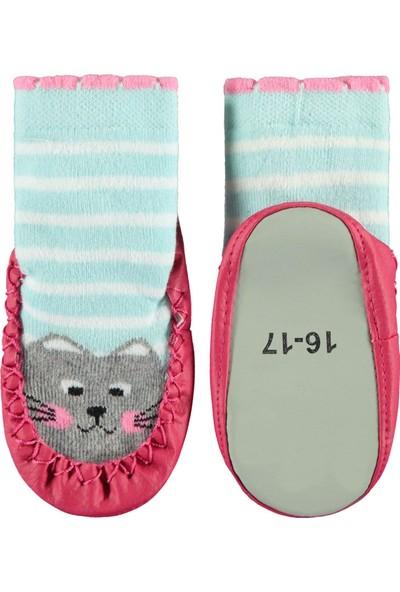 Civil Baby Kız Bebek Çarık Çorap 16-22 Numara Fuşya