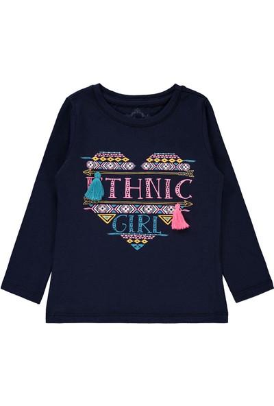 Civil Kız Çocuk Sweatshirt 2-5 Yaş Lacivert