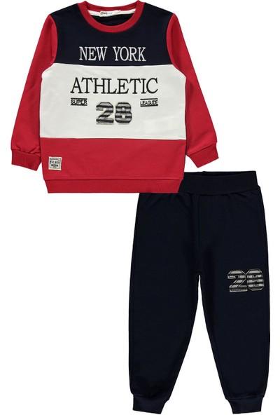Civil Boys Erkek Çocuk Eşofman Takımı 2-5 Yaş Kırmızı