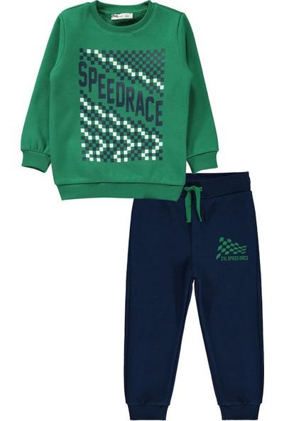 Civil Boys Erkek Çocuk Eşofman Takımı 2-5 Yaş Yeşil