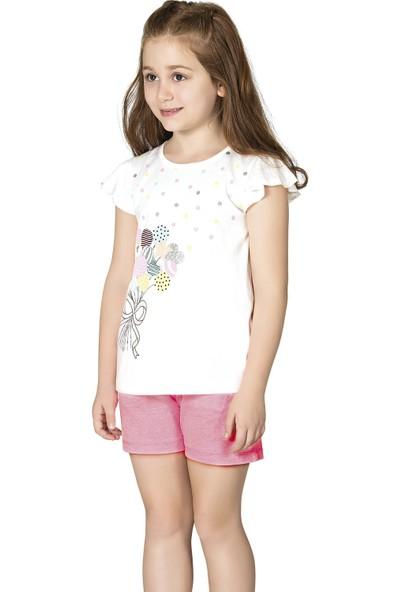 Özkan 42624 Kız Çocuk Şortlu Pijama Takımı