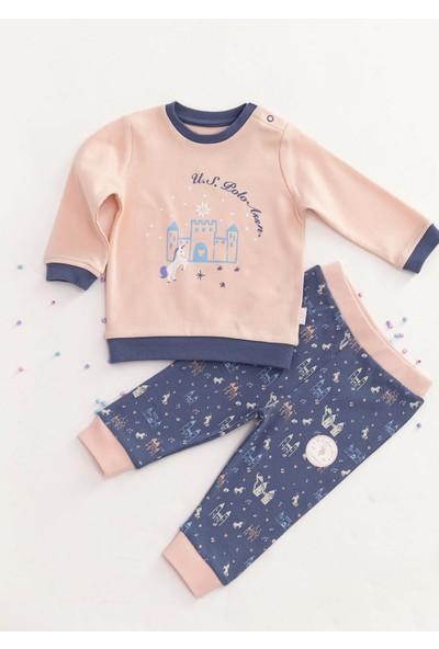 U.S. Polo Assn. Lisanslı Somon Bebek Takım