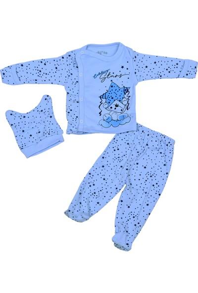 Babycan 7286 3'lü Zıbın Set