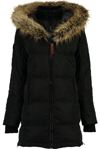 Geographical Norway Kadın Mont WQ818F-BLACK