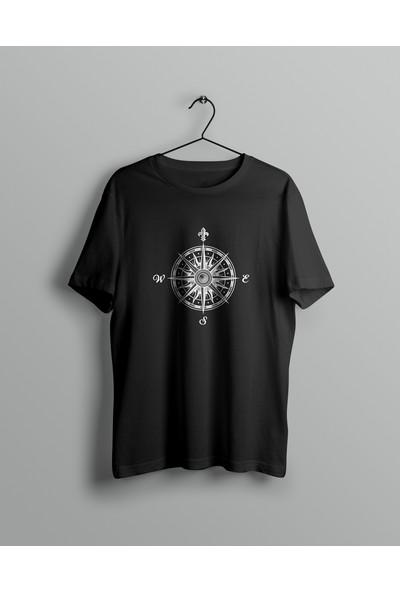 Şimşek Kadın Baskılı Pamuklu Tişört