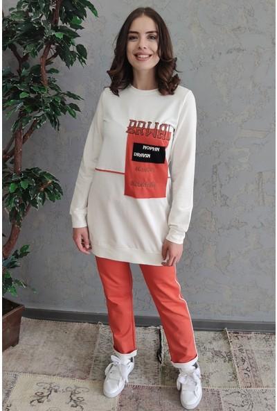 Sportify Tunik Pantolon Takım - Tarçın
