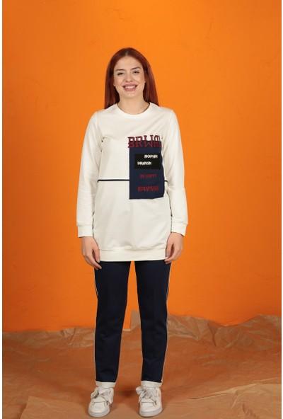 Sportify Tunik Pantolon Takım - Indigo