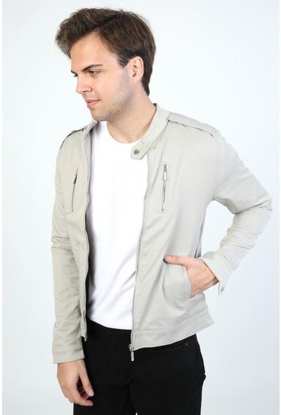 Little Cup Jeans Co Mevsimlik Iç Astarlı Premium Erkek Taş Ceket Mont
