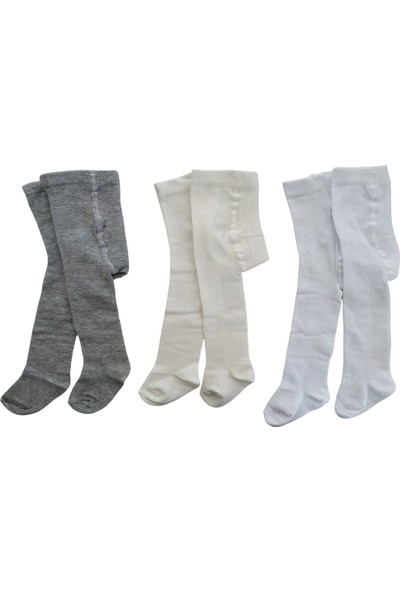 Fındıkbebe Bebek Külotlu Çorap 3'lü set