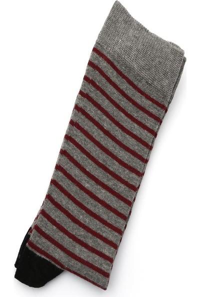 Ciorap 5'li Erkek Geyik ve Karma Desenli Asortili Çorap 4480C-B5