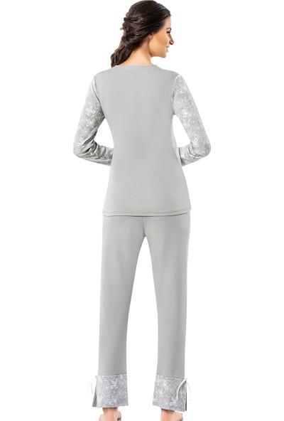 Şahinler Kadın Pijama Takımı MBP25008-1