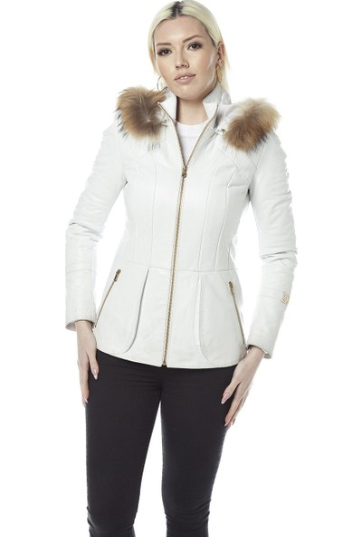 Hodore Rosalin Kadın Deri Ceket