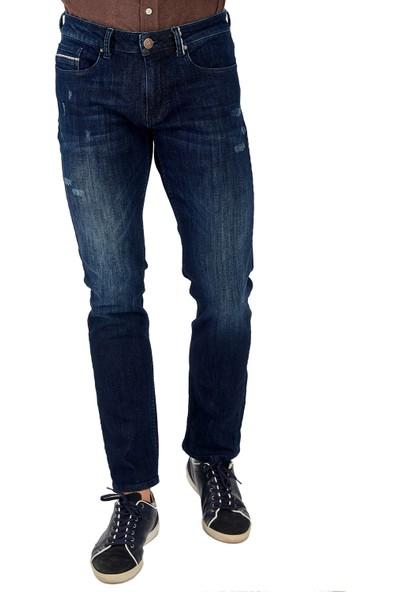 Galvanni Erkek Lacivert Jeans