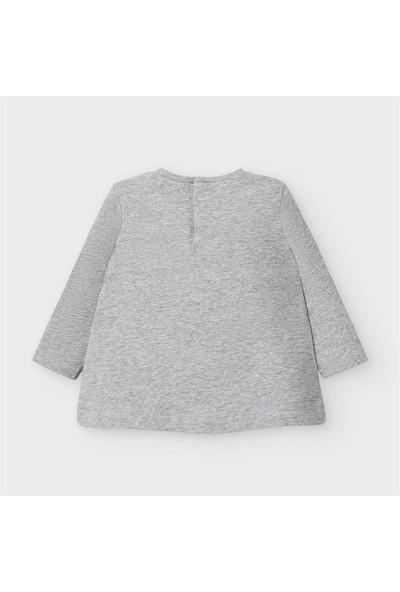 Mayoral Kız Bebek Baskılı Sweatshirt