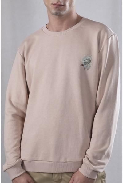 Tin Deer Sweatshirt Bej