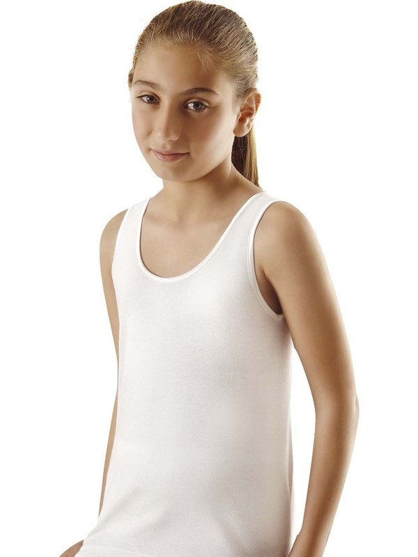 Türen 405 Kız Çocuk Pamuklu Kaşkorse Atlet 2'li Paket