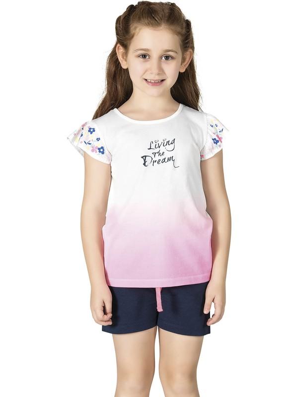 Özkan 42627 Kız Çocuk Şortlu Pijama Takımı