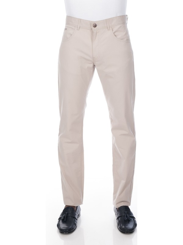 Galvanni Erkek Bej Pantolon