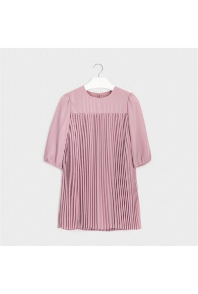 Mayoral Kız Çocuk Piliseli Elbise
