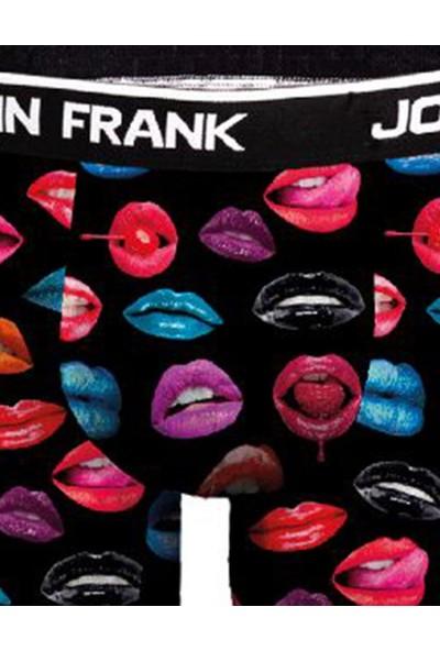 John Frank Dijital Erkek Boxer - Hot Lips
