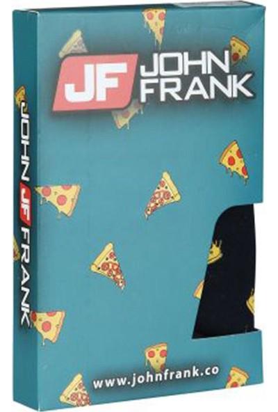 John Frank Dijital Erkek Boxer - Pizza