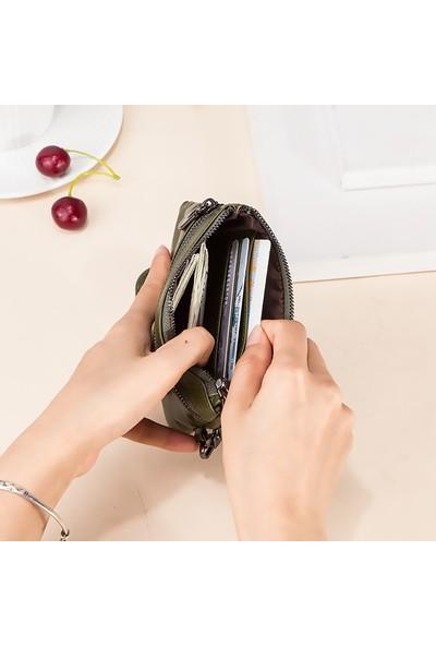 Contacts Vahla - Unique Design Deri Anahtarlıklı Mini El Çantası