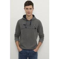 U.S. Polo Assn. Erkek Gri Sweatshirt Basic 50225500-VR081