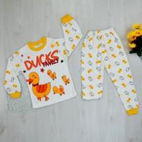 Süper Mini Ördek Modelli Pijama Takımı
