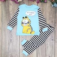 Babymoda Garfield Baskılı Pijama Takımı