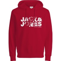 Jack Jones Erkek Kapüşonlu Extra Slim Fit Sweatshirt 12191179