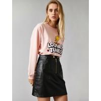 Koton Kadın Warner Bros Lisansli Baskılı Sweatshirt