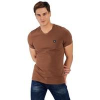 Galvanni Erkek Kahverengi T-Shirt