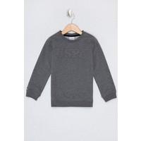 U.S. Polo Assn. Erkek Çocuk Gri Sweatshirt Basic 50225726-VR081