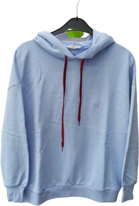 Rose Moda Kapşunlu Sweatshirt
