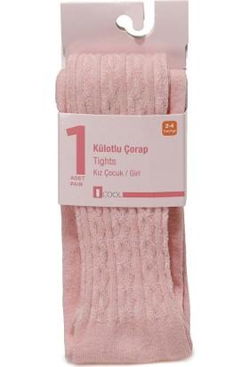 I Cool Jakar Tights-G Ekru Kız Çocuk Külotlu Çorap