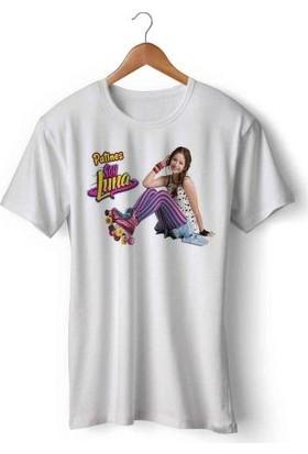 Art Hediye Patines De Soy Luna Tasarımlı Baskılı Tişört Tshirt