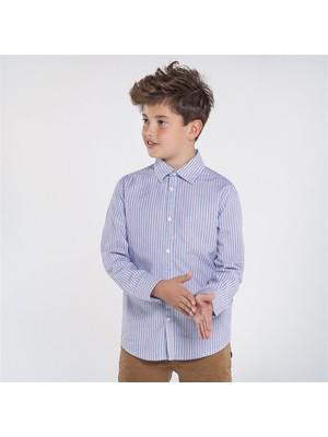 Mayoral Erkek Çocuk Kareli Uzun Kol Gömlek