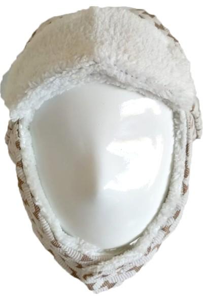 Onda10 Capps Pakette 2 Adet Bebek Çocuk Kız Erkek Bere Kapşon Sıcak Kış