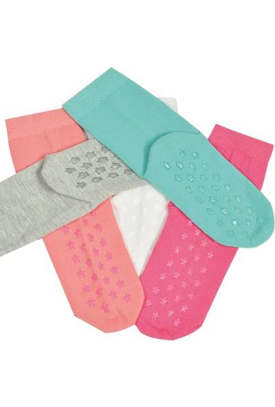 Mem Socks Dikişsiz Kaydırmaz Çocuk Çorabı 7'li
