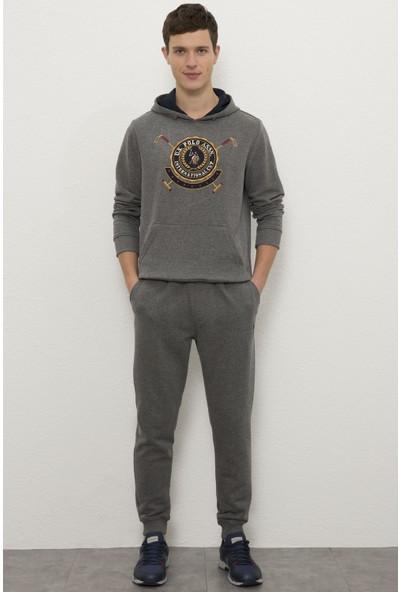 U.S. Polo Assn. Gri Örme Pantolon 50232119-VR081