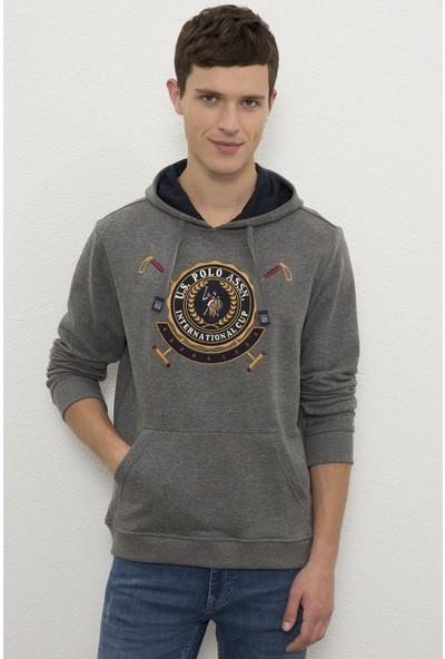 U.S. Polo Assn. Gri Sweatshirt 50225457-VR081