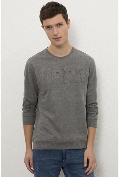 U.S. Polo Assn. Gri Sweatshirt Basic 50225481-VR081