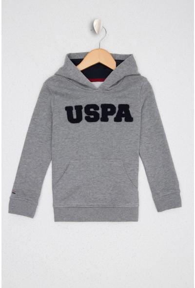 U.S. Polo Assn. Gri Sweatshirt Basic 50228533-VR086