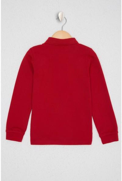 U.S. Polo Assn. Kırmızı Sweatshirt Basic 50225744-VR097