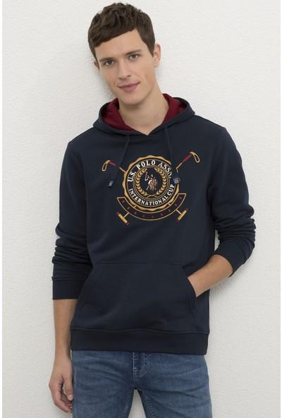 U.S. Polo Assn. Erkek Lacivert Sweatshirt 50225457-VR033