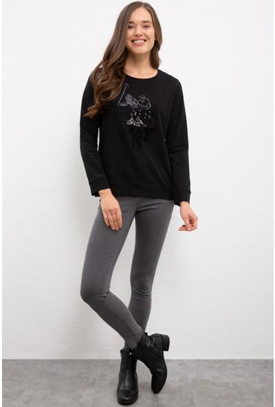 U.S. Polo Assn. Siyah Sweatshirt 50225638-VR046