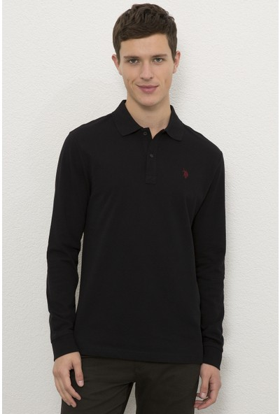 U.S. Polo Assn. Siyah Sweatshirt Basic 50225335-VR046