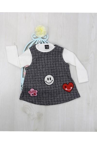 Markacity Kız Çocuk 2'li Jile Takım Elbise